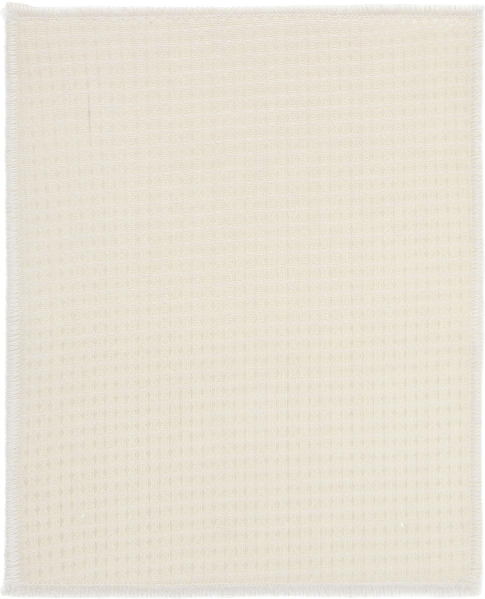 Салфетка двухслойная Золушка, цвет: светло-бежевый, 23 х 18 см531-326Двухслойная салфетка, выполненная из бамбукового волокна, применяется в качестве альтернативы моющих жидкостей. Такая салфетка очистит поверхность от жира и грязи, поможет вымыть посуду без моющего средства.Благодаря особой пористо-трубчатой структуре, бамбуковая салфетка эффективно удаляет загрязнения, не требуя применения химических средств. Такая структура волокон способствует легкому и быстрому очищению и самой салфетки, ее достаточно просто промыть под краном. В сравнении с хлопковыми или синтетическими, бамбуковые салфетки очень прочные. Они служат чрезвычайно долго, не теряя при этом своего внешнего вида.