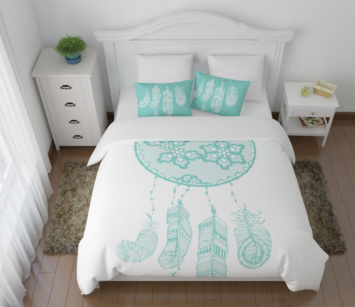 Комплект белья Сирень Тайны сна, 1,5-спальный, наволочки 50x70FD-59Комплект постельного белья Сирень состоит из простыни, пододеяльника и 2 наволочек. Комплект выполнен из современных гипоаллергенных материалов. Приятный при прикосновении сатин - гарантия здорового, спокойного сна. Ткань хорошо впитывает влагу, надолго сохраняет яркость красок. Четкий, изящный рисунок в сочетании с насыщенными красками делает комплект постельного белья неповторимой изюминкой любого интерьера. Постельное белье идеально подойдет для подарка.