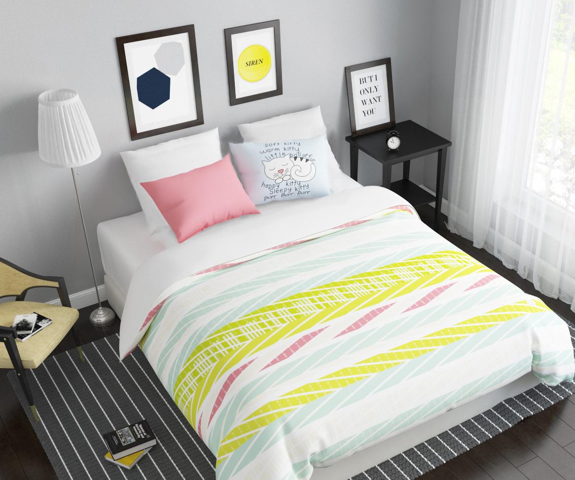 Комплект белья Сирень Сладкий сон, 1,5-спальный, наволочки 50x70391602Комплект постельного белья Сирень состоит из простыни, пододеяльника и 2 наволочек. Комплект выполнен из современных гипоаллергенных материалов. Приятный при прикосновении сатин - гарантия здорового, спокойного сна. Ткань хорошо впитывает влагу, надолго сохраняет яркость красок. Четкий, изящный рисунок в сочетании с насыщенными красками делает комплект постельного белья неповторимой изюминкой любого интерьера. Постельное белье идеально подойдет для подарка.