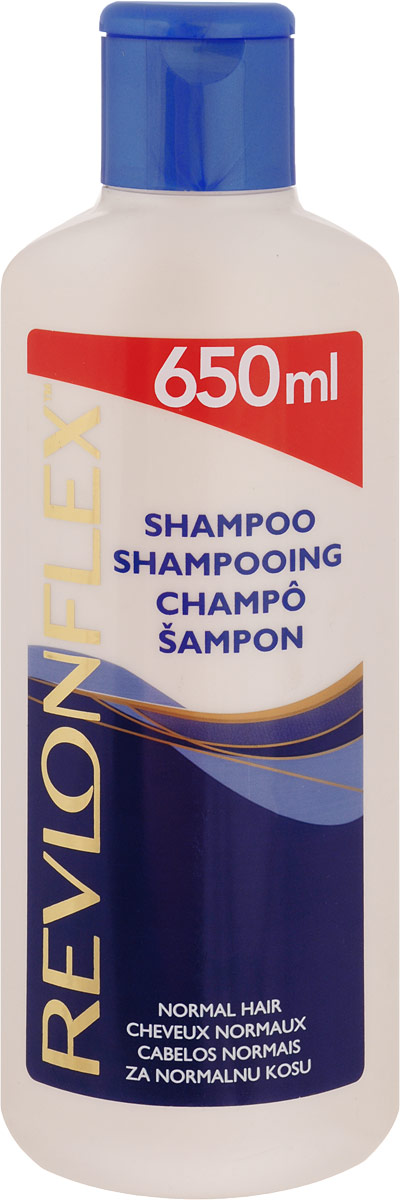 Revlon Шампунь для нормальных волос, 650 мл72523WDШампунь для нормальных волос Revlon Flex содержит увлажняющие ингредиенты, которые делают ваши волосы более мягкими и упругими. Сохраняет баланс влажности волос в течении всего дня.