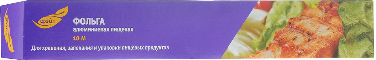 Фольга алюминиевая пищевая Фэйт, 10 м115610Алюминиевая фольга Фэйт предназначена для запекания, хранения и упаковки продуктов. Сохраняет витамины и микроэлементы, естественную свежесть, вкус и аромат пищевых продуктов. Характеристики:Материал: алюминиевая фольга. Длина: 10 м. Ширина: 29 см. Толщина: 9 мкм.