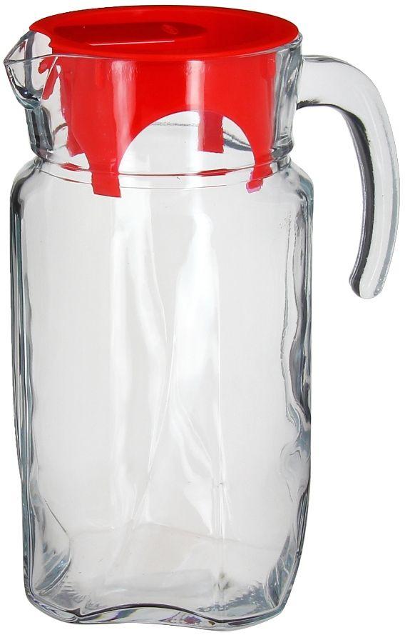 Кувшин Pasabahce Luna, 1,75 лVT-1520(SR)Кувшин Pasabahce LUNA, выполненный из прочного натрий-кальций-силикатного стекла, элегантно украсит ваш стол. Такой кувшин прекрасно подойдет для подачи воды, сока, компота и других напитков. Кувшин плотно закрывается пластиковой крышкой. Крышка устроена таким образом, что выливать жидкость можно не снимая ее, так как напиток будет проходить через специальную выемку. Совершенные формы и изящный дизайн, несомненно, придутся по душе любителям классического стиля. Кувшин Pasabahce LUNA дополнит интерьер вашей кухни и станет замечательным подарком к любому празднику.