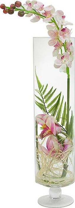 Цветы декоративные Dream Garden Орхидея светло-розовая, в стеклянной вазеПИ-21-8ТХЦветы декоративные Dream Garden  Орхидея светло-розовая выполнены из искусственного шелка и текстиля. Искусственные цветы максимально приближены к натуральным, не пахнут, что исключает все аллергические реакции. Цветы подойдут для декоративного оформления интерьеров и создают цветочное настроение. Цветы установлены в оригинальную вазу из стекла. Декоративные цветы - это прекрасный подарок в любой дом!