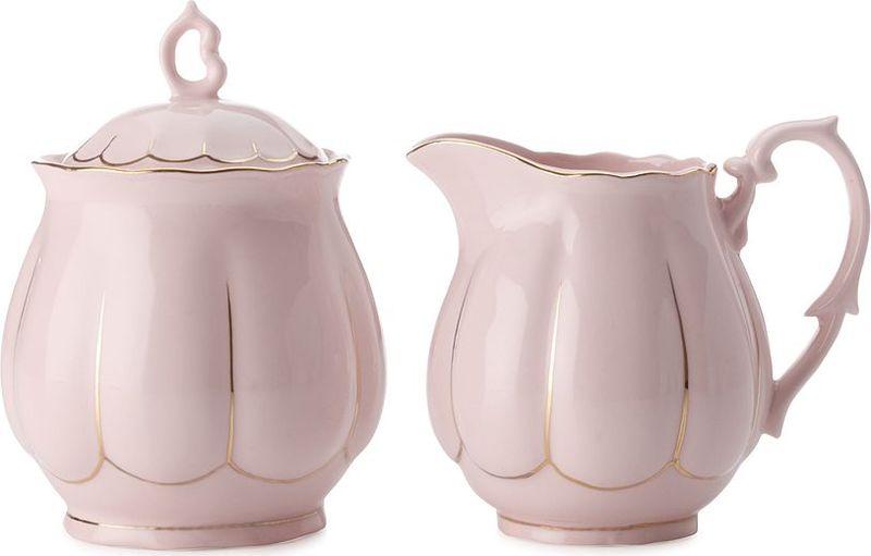 Набор Maxwell & Williams Свежее дыхание, цвет: розовый, 2 предмета115510Набор Maxwell & Williams Свежее дыхание состоит из сахарницы и молочника, выполненных из высококачественного фарфора. Глазурованное покрытие обеспечивает легкую очистку. Оригинальный дизайн и качество исполнения сделают такой набор настоящим украшением стола к чаепитию. Он удобен в использовании и понравится каждому.
