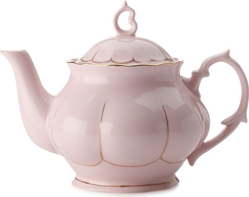 Чайник заварочный Maxwell & Williams Свежее дыхание, цвет: розовый, 0,75 лMW580-QV6801Заварочный чайник Maxwell & Williams  Свежее дыхание выполнен из высококачественного фарфора и дополнен позолотой. Изделие оснащено крышкой. Заварочный чайник придется по вкусу и ценителям классики, и тем, кто предпочитает утонченность и изысканность.