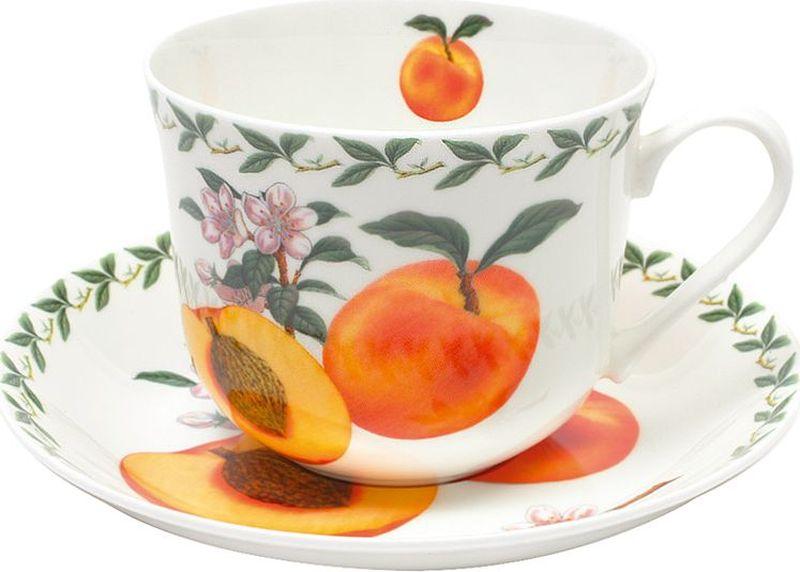 Чайная пара Maxwell & Williams Абрикос, 0,48 лIM99-0555/мотоЧайная пара Maxwell & Williams Абрикос состоит из чашки и блюдца, изготовленных из высококачественного фарфора. Изделия оформлены изображением фруктов и имеют изысканный внешний вид. Такой набор прекрасно дополнит сервировку стола к чаепитию и подчеркнет ваш безупречный вкус.