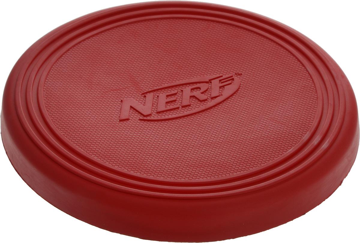 Игрушка для собак Nerf Диск для фрисби, цвет: красный, 22,5 см. 22408_красный12171996Игрушка для собак Nerf Диск для фрисби - это удивительный спортивный снаряд, с которым не придется скучать. Кроме великолепных летных качеств, диск безопасен для собачьих зубов и десен. Диск изготовлен из сверхпрочной резины, что обеспечивает долговечность использования.Диаметр игрушки: 22,5 см.