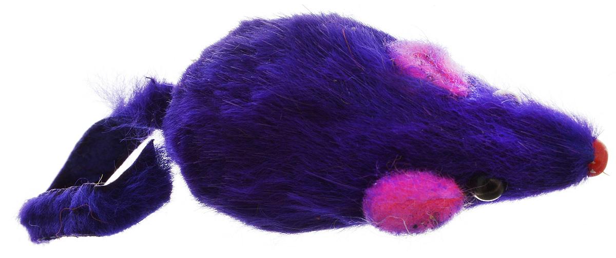 Игрушка для кошек Каскад Мышь, с коротким мехом, цвет: фиолетовый, длина 10,5 см22477Игрушка для кошек Каскад Мышь изготовлена из искусственного меха и пластика.Такая игрушка порадует вашего любимца, а вам доставит массу приятных эмоций, ведь наблюдать за игрой всегда интересно и приятно.Общая длина игрушки: 10,5 см.
