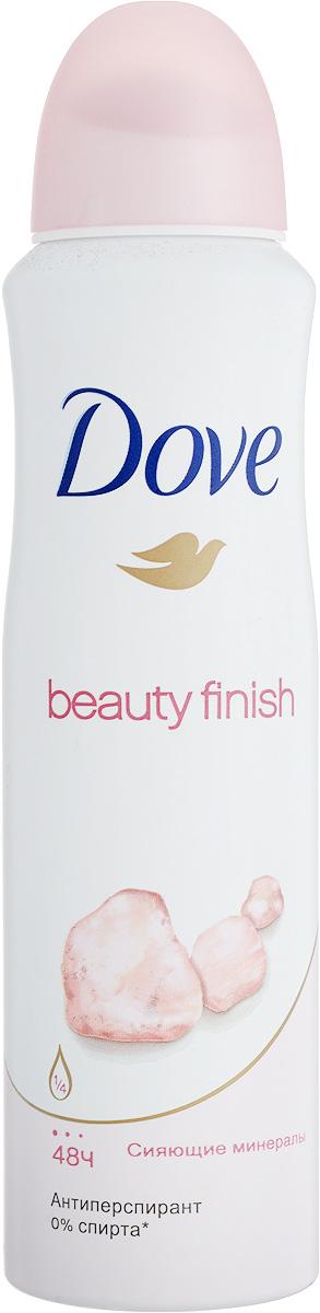 Dove Антиперспирант аэрозоль Прикосновение красоты 150 мл21133870Антиперсипрант Dove Прикосновение Красоты - обеспечивает защиту от пота на 48 часов и на 1/4 состоит из особенного увлажняющего крема, который способствует восстановлению кожи после бритья, делая ее более гладкой и нежной- Содержит сияющие минералы, известные своими светоотражающими свойствами, которые делают тон кожи более ровным и естественным