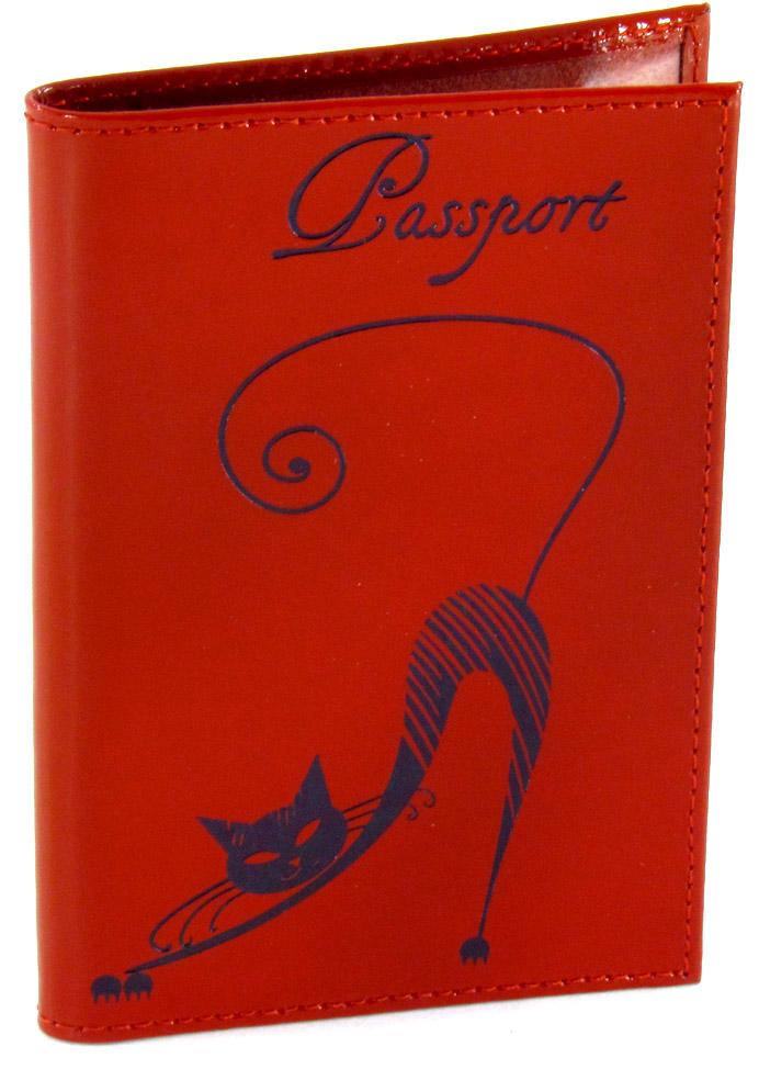 Обложка для паспорта Befler Изящная кошка, цвет: красный. O.31.- 111379833-BLKОбложка для паспорта Befler Изящная кошка не только поможет сохранить внешний вид Ваших документов и защитить их от повреждений, но и станет стильным аксессуаром, идеально подходящим Вашему образу. Обложка выполнена из натуральной кожи и оформлена декоративным тиснением в виде черной кошки и надписью Passport. Внутри имеет два вертикальных кармана из прозрачного пластика с выемкой и два вертикальных кармана из технологичного материала.Характеристики: Материал: натуральная кожа, пластик. Размер обложки: 10 см х 14 см. Цвет: красный. Размер упаковки: 10,5 см х 14,5 см х 1,3 см. Изготовитель: Россия. Артикул: O.31.-1.red.Befler является дочерним брендом крупнейшего производителя кожгалантереи - компании Askent, существующей с 1993 года. Сохраняя лучшие традиции и высокую культуру производства компании, изделия под маркой Befler соответствуют самым высоким мировым стандартам. Вся продукция проходит многоступенчатый контроль качества на каждой стадии производства, что позволяет приблизить процент брака к нулю.