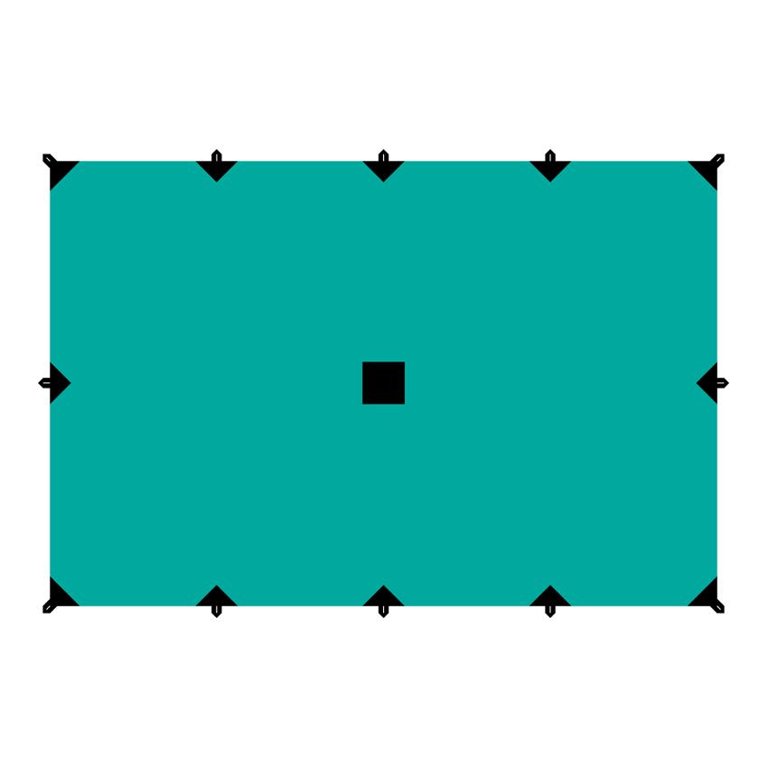 Тент Tramp, цвет: зеленый, 4 х 6 мTRT-102.04Универсальный тент Tramp предназначен для защиты от дождя и солнца. Использование высококачественного полиэстера делает тент прочным, легким и не впитывающим влагу. Тент имеет пропитку, защищающую от ультрафиолетового излучения. По периметру вшиты петли для фиксации тента на оттяжках. Углы тента усилены вставками из прочной ткани. Светоотражающие оттяжки с регуляторами длины и стальные колышки в комплекте. Тент упаковывается в чехол для транспортировки и хранения. Размер тента: 4 х 6 м.