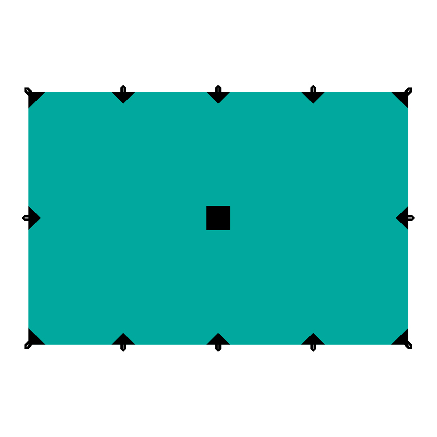 Тент  Tramp , цвет: зеленый, 4 х 6 м - Палатки и тенты