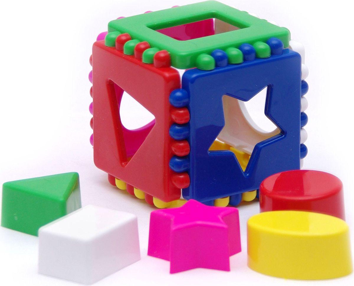 Karolina Toys Сортер Маленький логический кубик