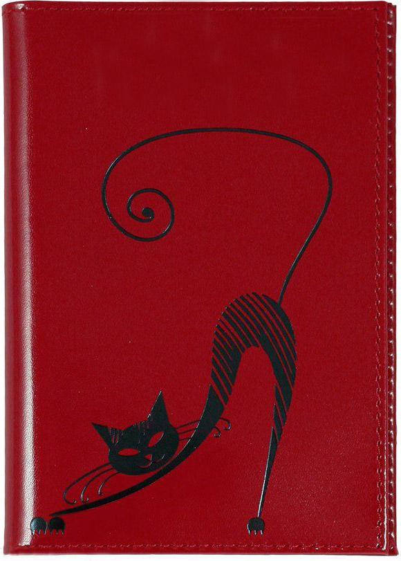 Бумажник водителя Befler Изящная кошка, цвет: красныйBM8434-58AEБумажник водителя Befler Изящная кошка выполнен из натуральной кожи красного цвета и украшен декоративным тиснением в виде черной кошки. Имеет внутри два глубоких вертикальных кармана и внутренний блок из прозрачного пластика для водительских документов.Такой бумажник станет отличным подарком для человека, ценящего качественные и необычные вещи.Характеристики: Цвет: красный. Размер (в закрытом виде): 9 см x 12,5 см. Размер упаковки: 10,5 см x 14,5 см x 1 см. Материал: натуральная кожа. Производитель: Россия. Артикул:BV.35.-1.red.Befler является дочерним брендом крупнейшего производителя кожгалантереи - компании Askent, существующей с 1993 года. Сохраняя лучшие традиции и высокую культуру производства компании, изделия под маркой Befler соответствуют самым высоким мировым стандартам. Вся продукция проходит многоступенчатый контроль качества на каждой стадии производства, что позволяет приблизить процент брака к нулю.