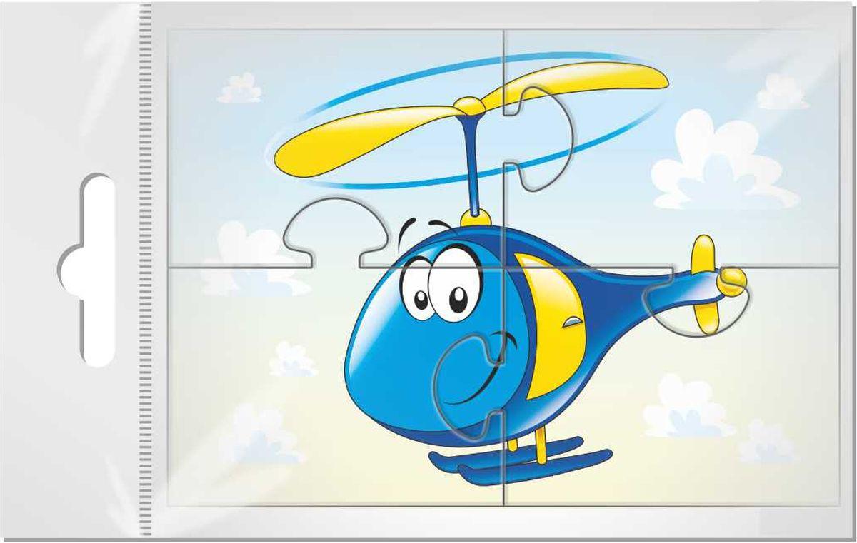 Издательская группа Квадра Пазл для малышей Вертолетик