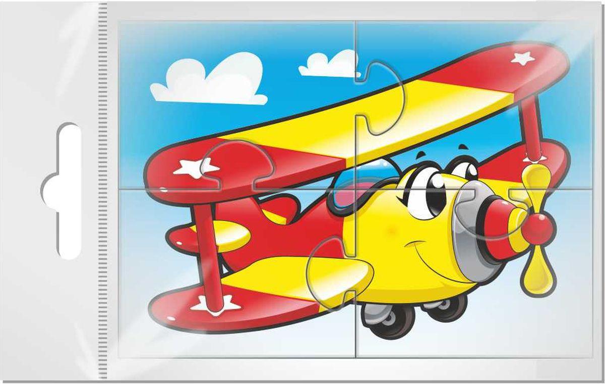 Издательская группа Квадра Пазл для малышей Самолет