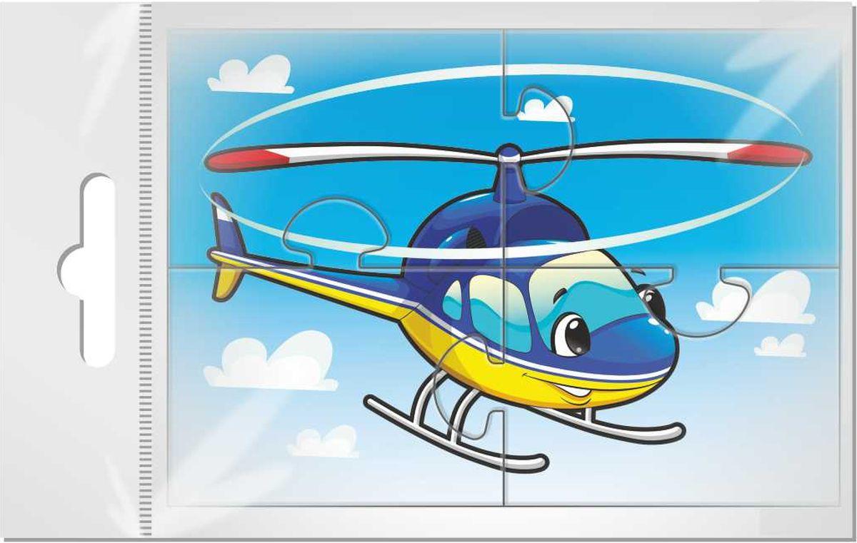 Издательская группа Квадра Пазл для малышей Вертолет