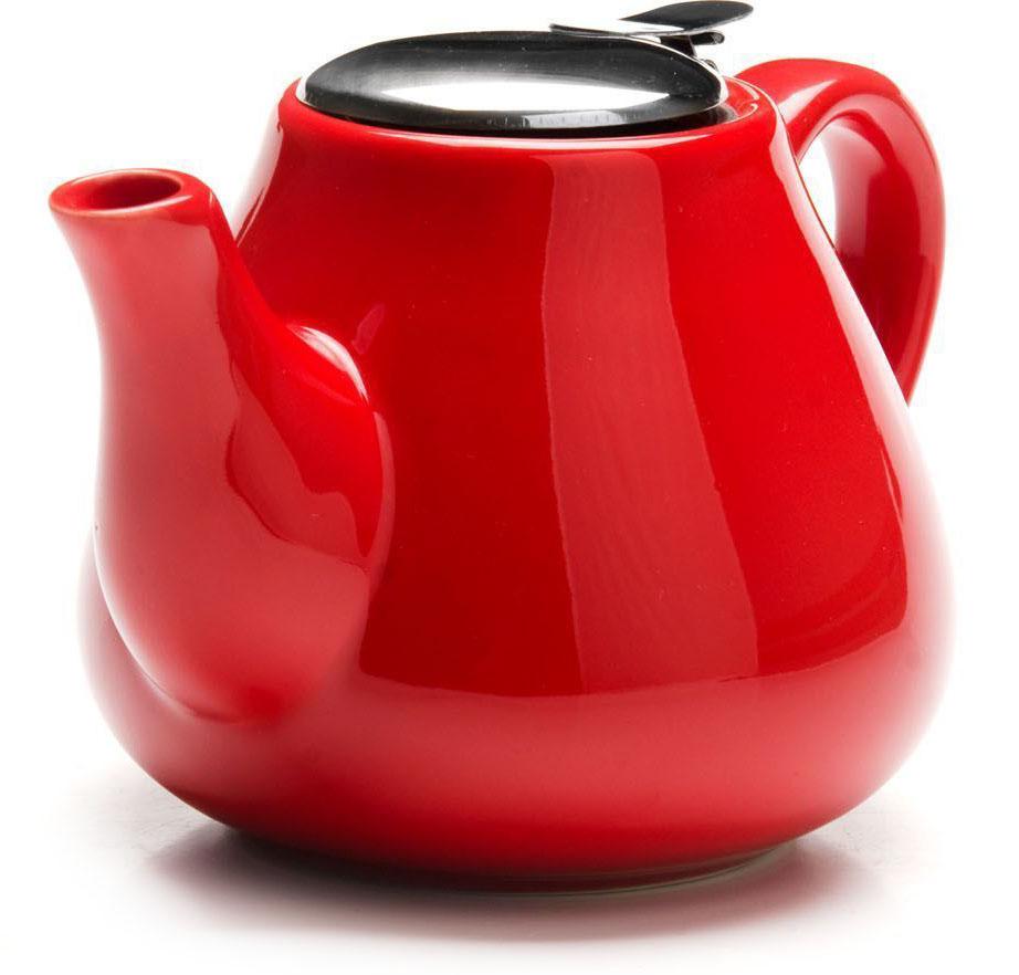 Заварочный чайник Loraine, цвет: красный, 600 мл. 26595-3391602Заварочный чайник Loraine выполнен из высококачественной цветной керамики. Фильтр из нержавеющей стали для заваривания раскроет букет чая и не позволит чаинкам попасть в чашку. Удобная металлическая крышка поддержит нужную температуру для заваривания чая.Керамический чайник прост и удобен в применении, чайник легко мыть. Не ставьте чайник на открытый огонь и нагревающиеся поверхности.Подходит для мытья в посудомоечной машине.