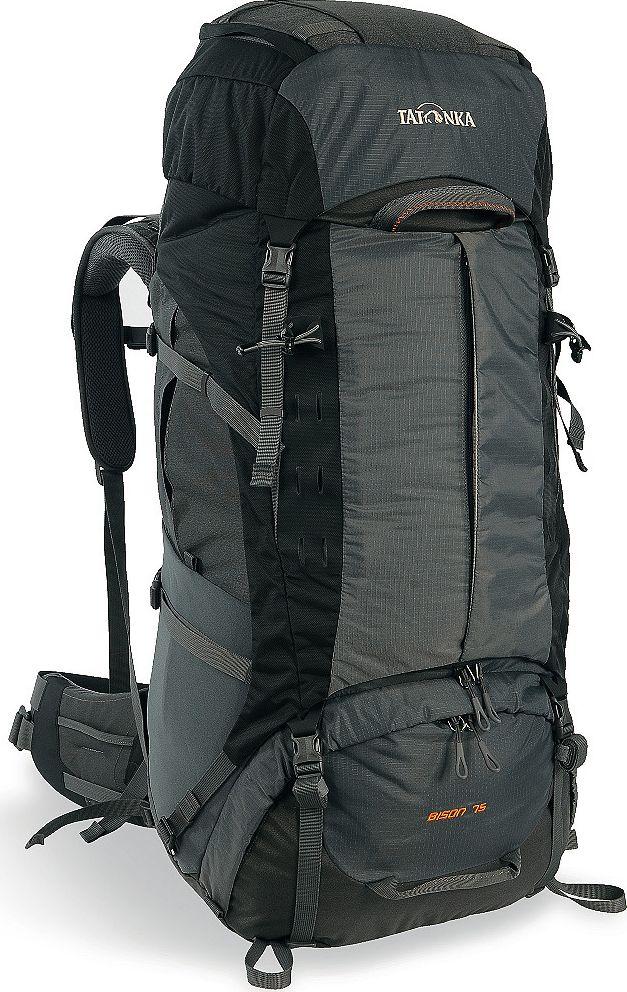 Рюкзак туристический Tatonka  Bison , цвет: серый, 75+10 л - Туристические рюкзаки