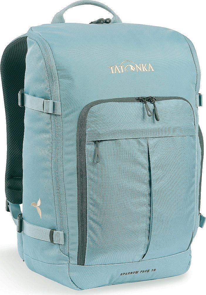Рюкзак женский Tatonka Sparrow Pack, для учебы и работы, цвет: голубой, 19 л1629.142Tatonka Sparrow Pack- это компактный женский рюкзак для учебы или работы. Основное отделение открываются полностью благодаря молнии, идущей по всему периметру рюкзака: собирать рюкзак очень легко, кроме того, легко достать любые вещи. Это удобно, например, в аэропорту на регистрации. Для ноутбука предусмотрен специальный карман. В передней части рюкзака находится отделение с органайзером. Благодаря лямкам анатомической формы и нагрудному ремню, носить рюкзак комфортно и легко.Преимущества и особенности: - Спинка Vent Comfort;- Лямки анатомической формы;- Регулируемый нагрудный ремень;- Компрессионные стропы;- Ручка для переноски;- Дополнительные карманы в основном отделении;- Основное отделение открывается полностью;- Уплотненное дно;- Передний карман с органайзером;- Крючок для ключей;- Отделение для ноутбука 15,4 дюйма.Размер: 43 x 26 x 15 см.