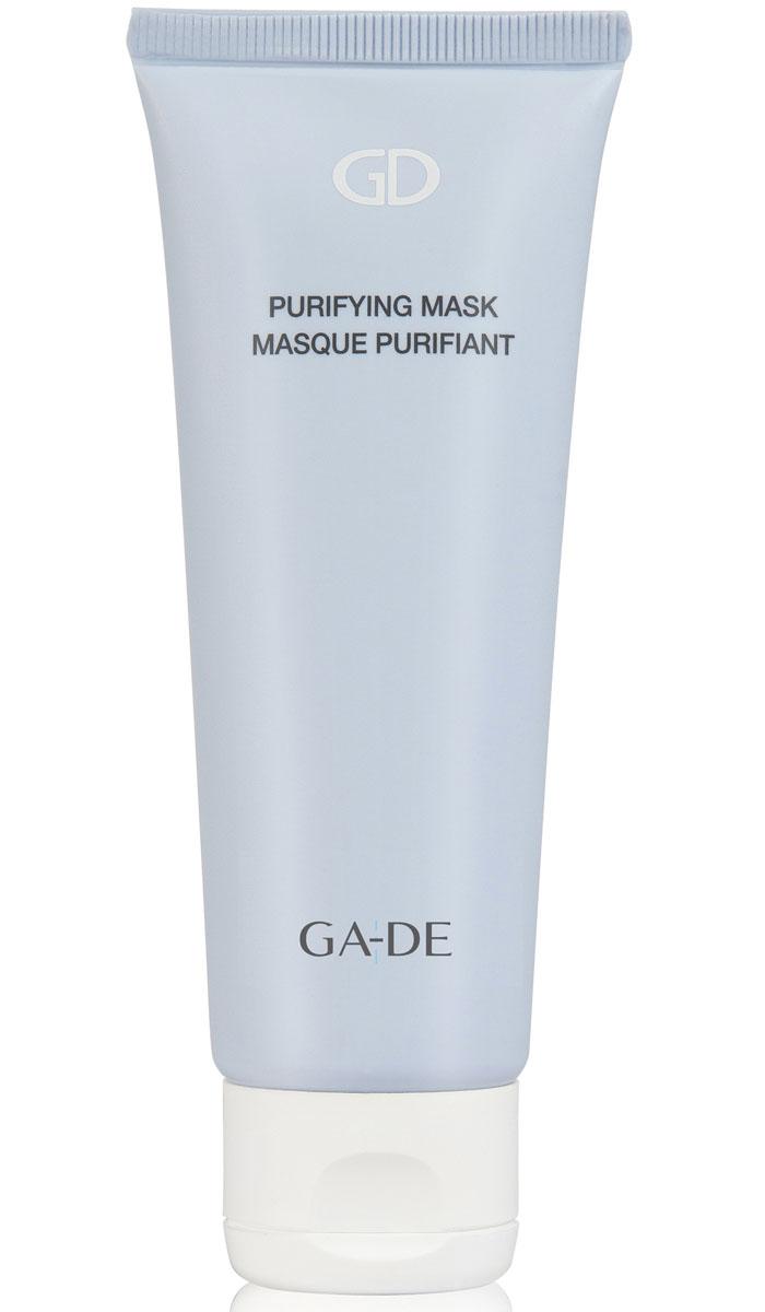 GA-DE Очищающая маска для лица Purifyng Mask, 75 млFS-00897Очищающая маска для жирной и комбинированной кожи на основе белой глины. Тщательно очищает кожу от загрязнений, омертвевших клеток и токсинов. Успокаивает раздраженную кожу, нормализует выделение подкожного жира, поддерживает оптимальный уровень увлажнения. Помогает уменьшить восспаления(акне) на коже, глубоко очищает и сужает поры. Оказывает абсорбирующее и противоспалительное действие, регулирует деятельность сальных желез. Нормализует гидролипидный баланс и придает матовость кожи.
