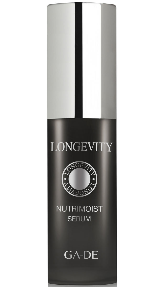 GA-DE Сыворотка для лица Longevity Nutrimoist, 30 мл132200000Сыворотка обеспечивает мгновенный результат, работая на более глубоком уровне эпидермиса, заметно сокращает признаки старения. Восстанавливает запасы влаги, уплотняет дерму. Повышает выработку коллагена, поддерживает уровень уже имеющегося, улучшает каркас кожи. Разглаживает морщины и предотвращает появление новых, улучшает рельеф кожи.