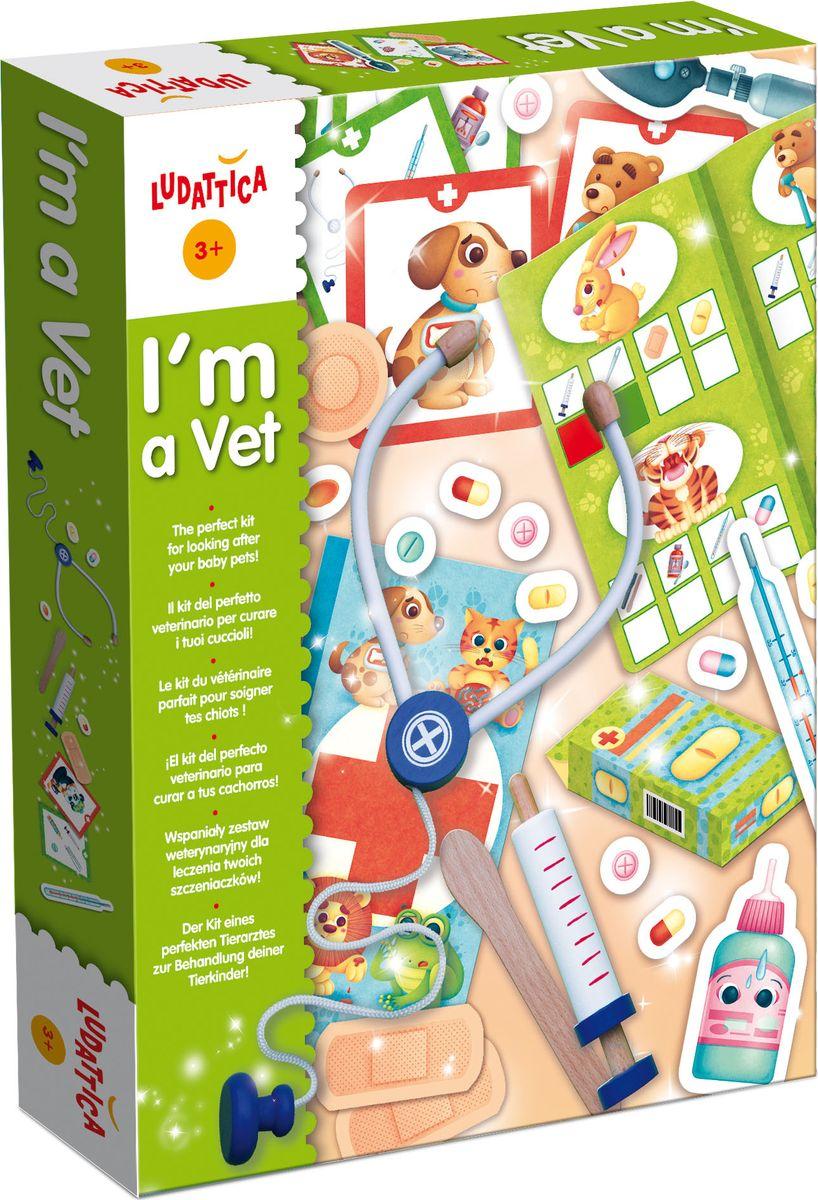 Ludattica Обучающая игра Я - ветеринар энциклопедия для детей от а до я в 10 томах том 6 лаб нау