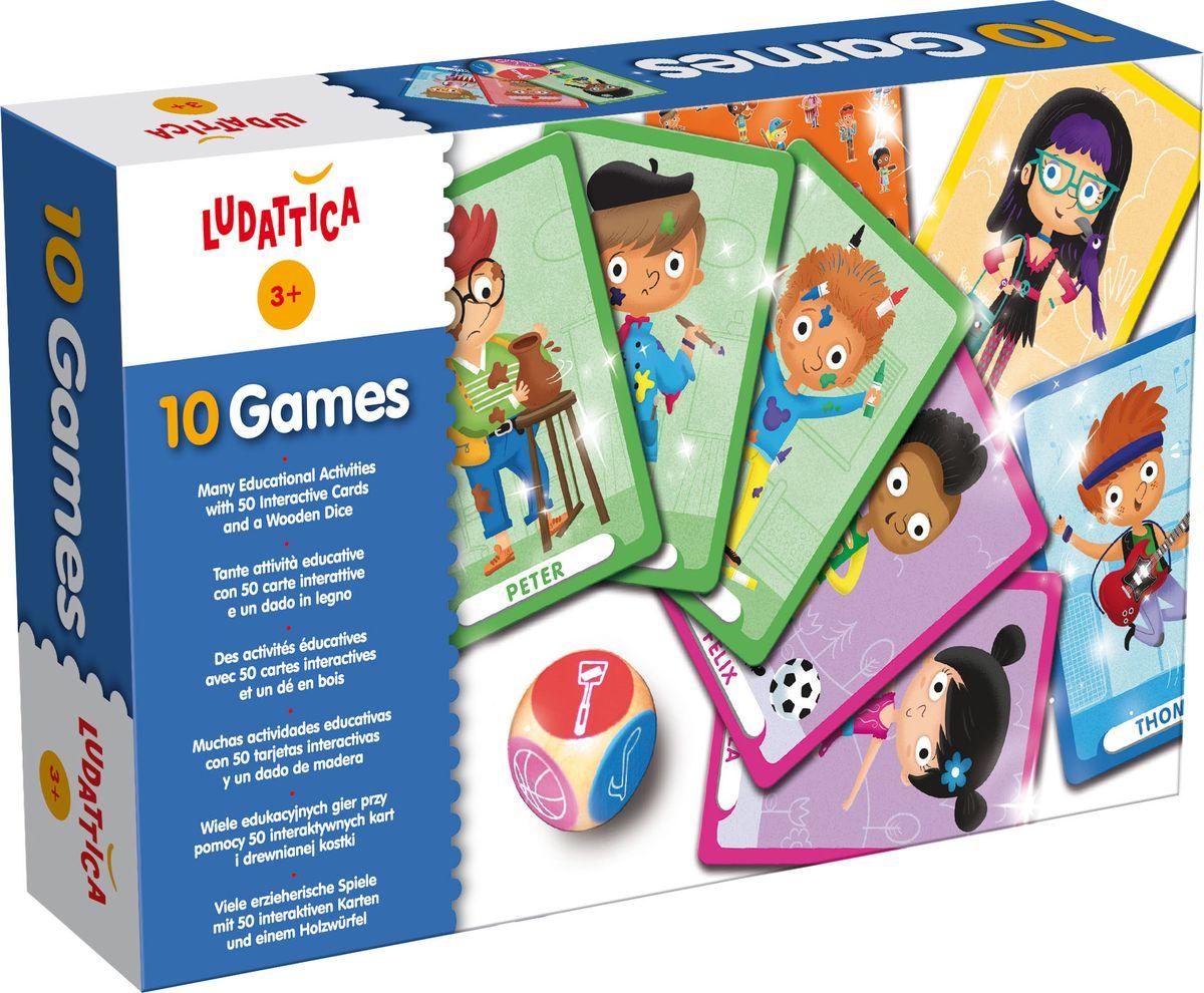 Ludattica Обучающая игра 10 игр