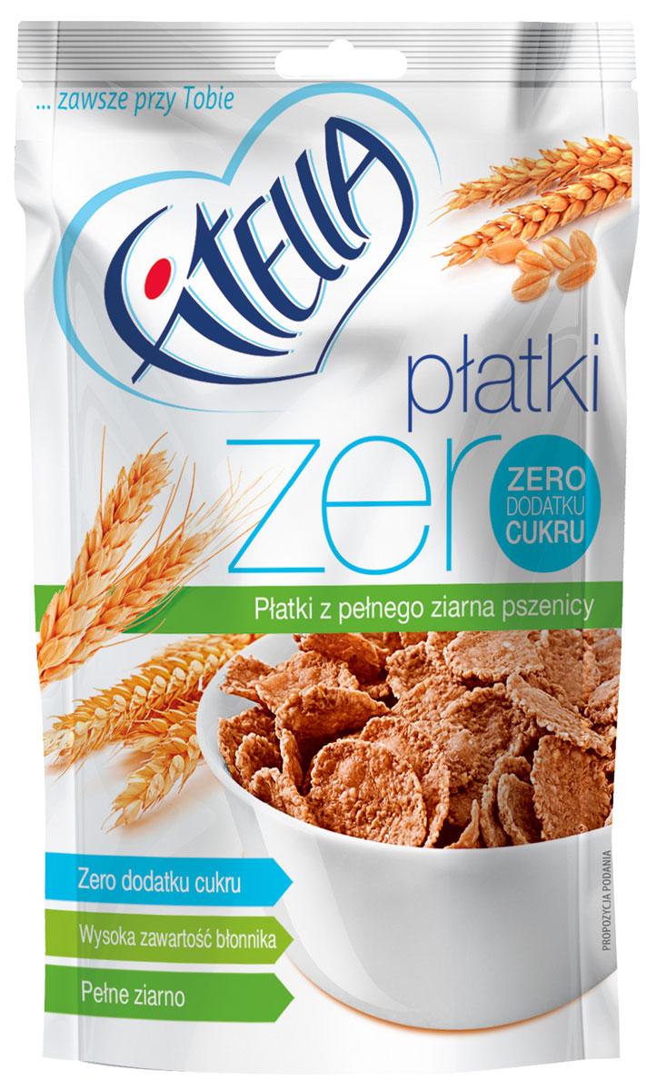 Fitella Zero хлопья пшеничные цельнозерновые, 225 г