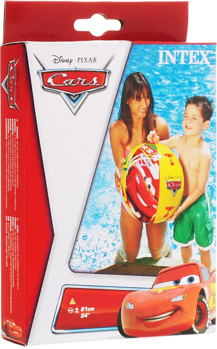 Intex Мяч Тачки 61 см simba фотокамера герои диснея тачки