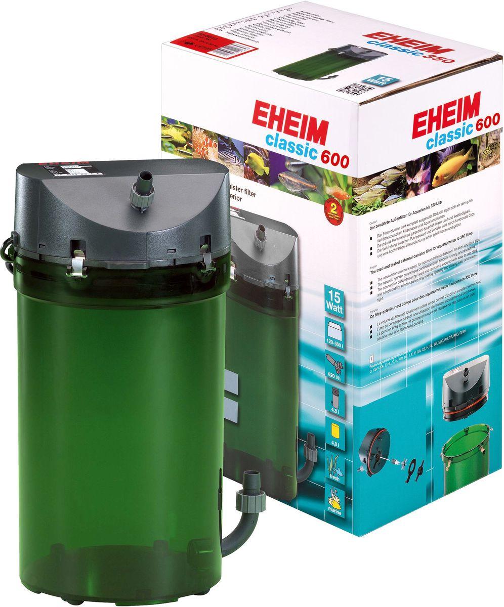 Фильтр внешний Eheim Classic 600, краны, губки и био наполнитель0120710Надежнаяи проверенная стандартная линия фильтров с отличными механическими и биологическими фильтрующими свойствами.