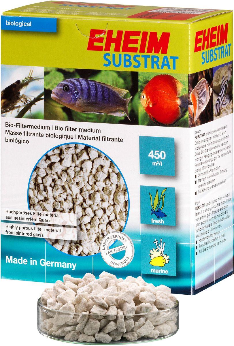 Наполнитель для фильтра Eheim Substrat, субстрат, 1 лг-1006Пористый материал наполнителя для фильтра Eheim Substrat обеспечивает среду для биологической очистки воды за счет предоставления большой площади поверхности для заселения колоний важных бактерий. Для морских и пресноводных аквариумов