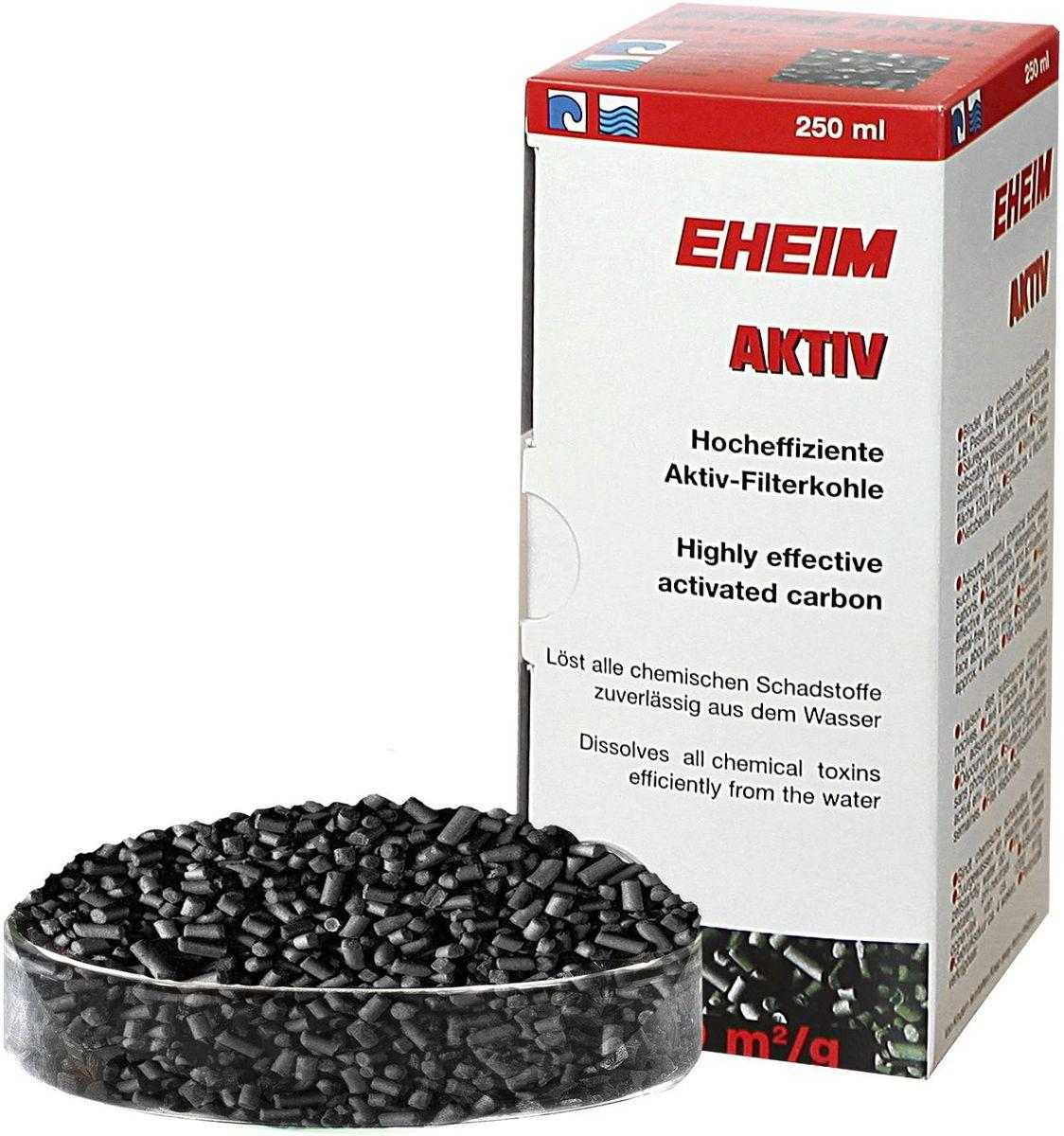 Наполнитель для фильтра Eheim Aktiv Carbon, угольный, 250 мл500029Угольный наполнитель для фильтра Ehaim Aktiv Carbon обеспечивает быстрый сбор растворенных в воде вредных веществ,пестицидов. Не содержит тяжелых металлов, обладает нейтральным уровнем pH. Наполнитель для фильтра Eheim Aktiv Carbon обладает большей эффективностью по сбору вредных веществ.