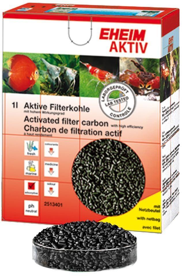 Наполнитель для фильтра Eheim Aktiv Carbon, угольный, 1 лART-2220921Угольный наполнитель для фильтра Ehaim Aktiv Carbon обеспечивает быстрый сбор растворенных в воде вредных веществ,пестицидов. Не содержит тяжелых металлов, обладает нейтральным уровнем pH. Наполнитель для фильтра Eheim Aktiv Carbon обладает большей эффективностью по сбору вредных веществ.