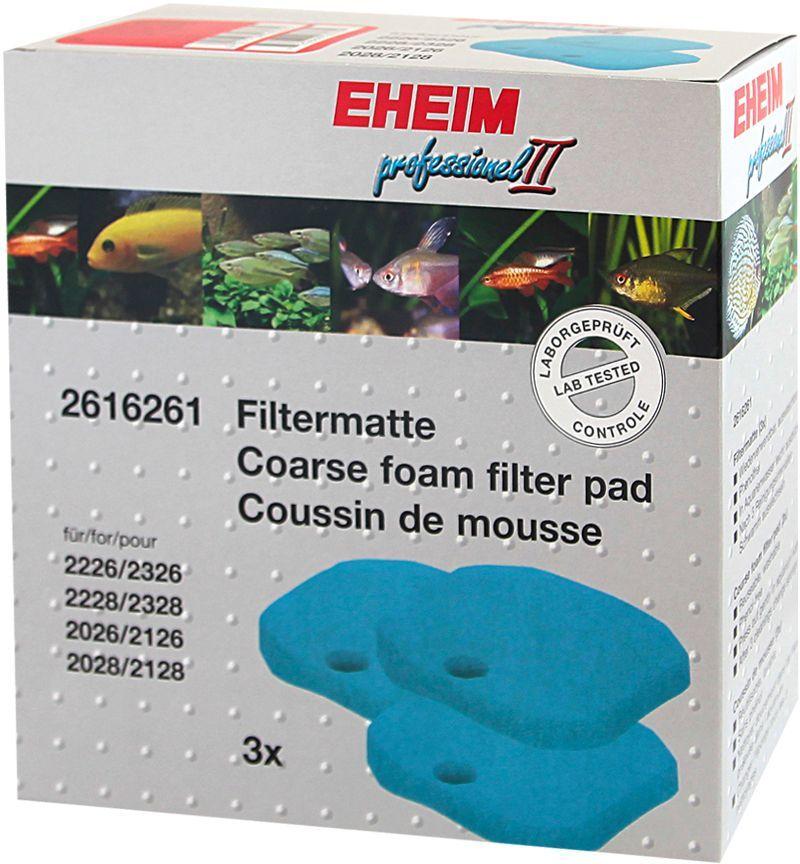 Наполнитель для фильтра Eheim Experience 150/250, поролон, 3 шт0120710Грубая губка Eheim Experience 150/250 предназначена для механической и биологической очистки воды в фильтрах Experience.