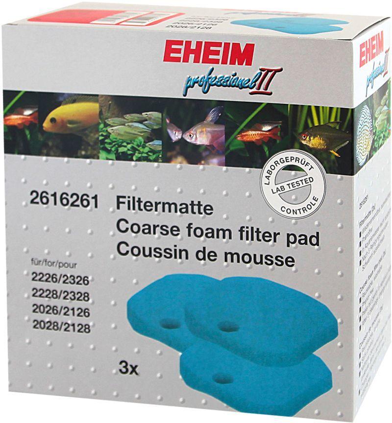 Наполнитель для фильтра Eheim Experience 350, поролон, 3 штART-1150201Грубая губка Eheim Experience 350 для механической и биологической очистки воды в фильтрах Experience.