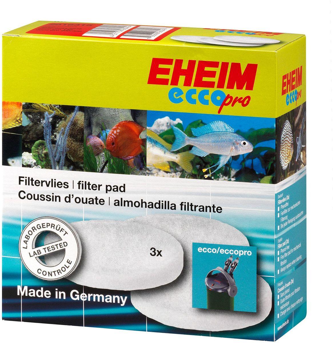 Наполнитель для фильтра Eheim Eccopro 130/200/300, поролон, 3 шт2616315Мелкопористая губка для фильтров Eheim Eccopro 130/200/300 предназначена для завершающей стадии очистки воды.