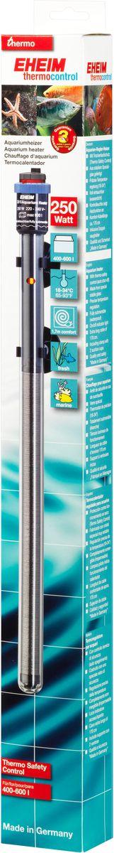 Нагреватель воды для аквариума Eheim Jager, 250 Вт0120710Аквариумный нагреватель Eheim Jager изготовлен из высокопрочного специального стекла, которое увеличивает поверхность нагрева и обеспечивает оптимальное равномерное тепловыделение. Имеет удобную регулировку температуры. Нагреватель герметичен, можно полностью погружать в воду. Обеспечивает высокую точность заданной температуры +/-0,5°С. В комплекте имеется две присоски.Для пресноводных и морских аквариумов.Минимальная температура: 18 °С.Максимальная температура: 34 °С.Производительность при 50 Гц: 250 ватт.Для аквариумов объемом: 400-600 л.Длина нагревателя: 452 мм.Длина кабеля: 170 см.
