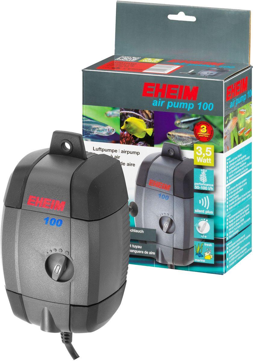 Компрессор для аквариума Eheim Air Pump 1000120710Непрерывная бесшумная работа; воздушный поток регулируется на корпусе 1/2; распылитель воздуха 3 регулирует количество воздуха и выходящие из него пузырьки
