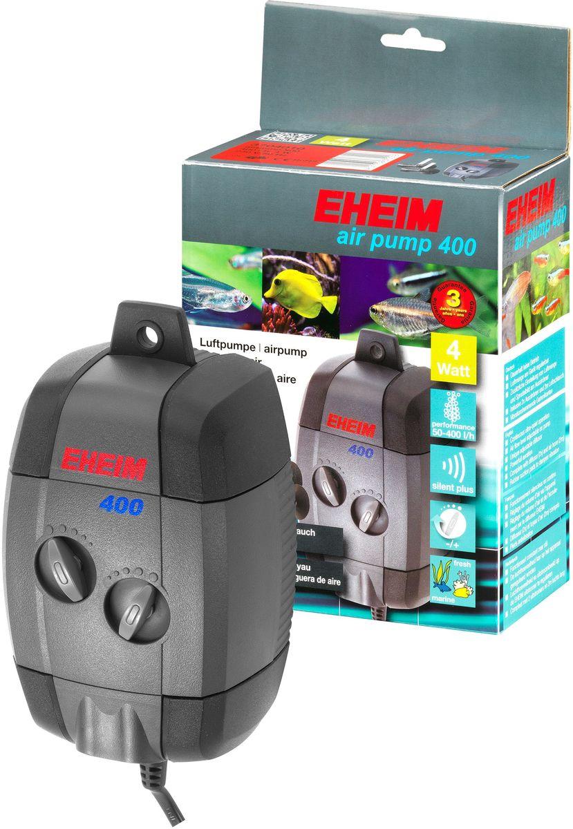 Компрессор для аквариума Eheim Air Pump 4003704010Компрессор для аквариума Eheim Air Pump 200 служит для насыщения воды в аквариуме кислородом, эксплуатации фильтров или декоративных элементов, работающих от воздуха, или для создания водяного потока. Воздушный поток можно регулировать на каждом выходе насоса, а также на каждом диффузоре. Это позволяет вам настроить свой собственный эффект пузырьков. Виброгасящие резиновые обкладки способствуют бесшумной работе насоса. Воздушный насос остается неподвижным и не блуждает. Вы можете повесить его вертикально на стекло аквариума благодаря специальному крючку. Необходимо регулярно менять войлочную прокладку диффузора.Производительность насоса в час при 50 Гц: 400,00 л.Насосная головка при 50 Гц (H max): 2,00 м.Мощность при 50 Гц: 4,00 Вт.Ширина: 89,00 мм.Высота: 152,00 мм.Глубина: 71,00 мм. Напорная сторона шланга: 4,00 мм.Частота: 50 Гц.