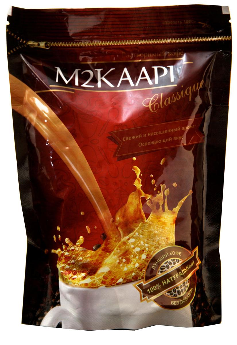 M2Kaapi кофе растворимый гранулированный, 200 г (пакет)0120710100% натуральный кофе растворимый гранулированный M2Kaapi. Кофе не содержит искусственных добавок и ароматизаторов, содержит 3,77 % кофеина.