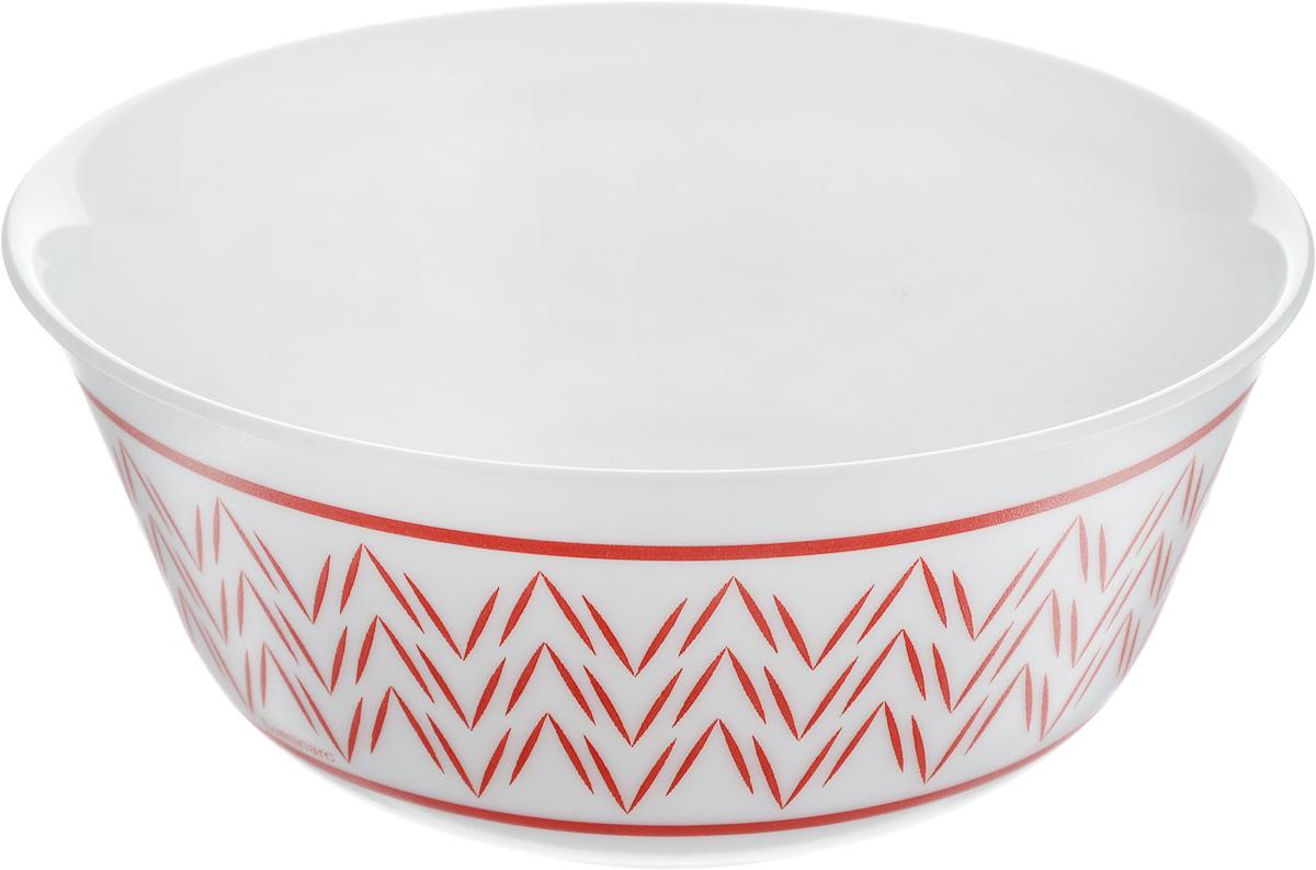 Салатник Luminarc Battuto, диаметр 12 смH4702Великолепный круглый салатник Luminarc Battuto, изготовленный из ударопрочного стекла, прекрасно подойдет для подачи различных блюд: закусок, салатов или фруктов. Классический стиль, простой узорчатый рисунок на белоснежном фоне идеально подойдут для повседневной трапезы в кругу семьи.Такой салатник украсит ваш праздничный или обеденный стол, а оригинальное исполнение понравится любой хозяйке. Бренд Luminarc - это один из лидеров мирового рынка по производству посуды и товаров для дома. В основе процесса изготовления лежит высококачественное сырье, а также строгий контроль качества. Товары для дома Luminarc уважают и ценят во всем мире, а многие эксперты считают данного производителя эталоном совершенства. Диаметр салатника (по верхнему краю): 12 см.