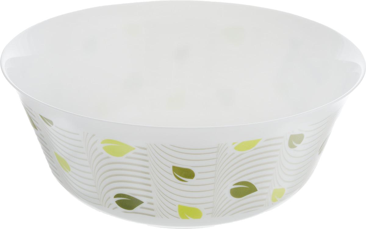 Салатник Luminarc Amely, диаметр 24 см115510Великолепный круглый салатник Luminarc Amely, изготовленный из ударопрочного стекла, прекрасно подойдет для подачи различных блюд: закусок, салатов или фруктов. Изделие оформлено оригинальным принтом. Такой салатник украсит ваш праздничный или обеденный стол, а оригинальное исполнение понравится любой хозяйке.Бренд Luminarc - это один из лидеров мирового рынка по производству посуды и товаров для дома. В основе процесса изготовления лежит высококачественное сырье, а также строгий контроль качества. Товары для дома Luminarc уважают и ценят во всем мире, а многие эксперты считают данного производителя эталоном совершенства. Диаметр салатника (по верхнему краю): 24 см.