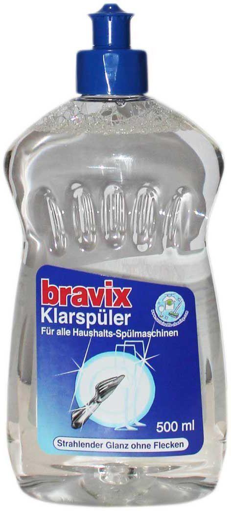 Ополаскиватель для посуды Bravix, для посудомоечных машин, 500 мл391602Новая формула ополаскивателя для посудомоечных машин Bravix деликатно заботится об идеальном сияющем блеске, надежно препятствует образованию пятен и подтеков после высыхания. Способ применения: добавить ополаскиватель в резервуар в соответствии с рекомендациями производителя ПММ. Состав: 5-15% неионные тензиды, отдушка.
