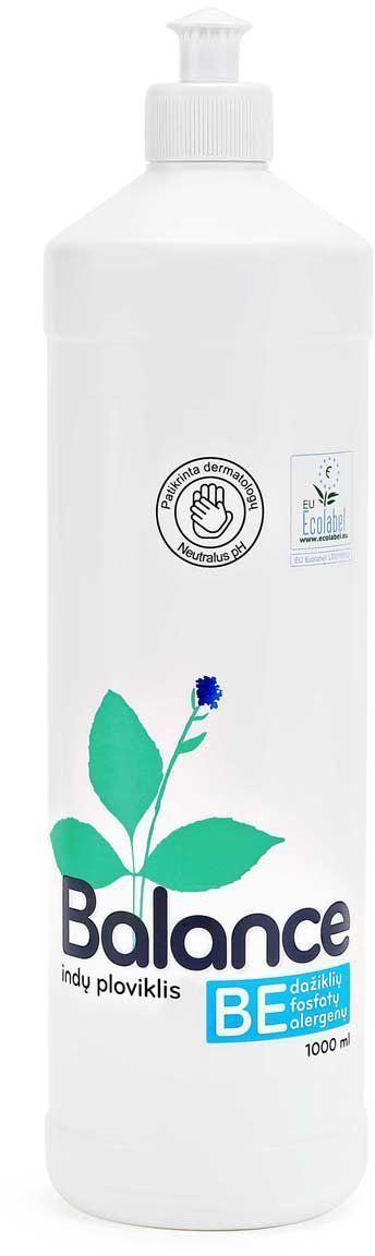 Эко-гипоаллергенное средство для мытья посуды Balance, концентрированное, 1 л4936000Экологическое средство для мытья посуды, 500 мл. Без раздражителей - красителей и ароматизаторов, предназначено для мытья посуды вручную. Рекомендовано дерматологами к использованию аллергиками и людьми с чувствительной кожей. Имеет нейтральный рН. Оказывает более щадящее воздействие на руки, не сушит кожу, не повреждает ногти, не раздражает дыхательные пути. Легко биологически расщепляется при контакте с окружающей средой. Густая прозрачная жидкость создает нежную пену, которая эффективно удаляет жир и остатки пищи с посуды и стеклянных, керамических, каменных и металлических поверхностей. Применение: для мытья посуды рекомендуется использовать приготовленный раствор, а не проточную воду, поскольку так вы экономите электроэнергию, воду и сохраняете окружающую среду. Приготовление раствора для мытья посуды: разовая доза на 5 литров моющего раствора для легко загрязненной посуды - 2 мл (1/2 чайной ложки), для сильно загрязненной - 4 мл (1 чайная ложка) средства для мытья посуды. Окуните посуду в приготовленный раствор, потрите губкой, затем промойте чистой водой. Одной бутылки средства для мытья посуды достаточно примерно на 170 раз. Состав: 5-15% анионных поверхностно-активных веществ, <5% амфотерных поверхностно-активных веществ, <5% неионных поверхностно-активных веществ, консервант (dimethylol glycol, methylchloroisothiazolinone, methylisothiazolinone).