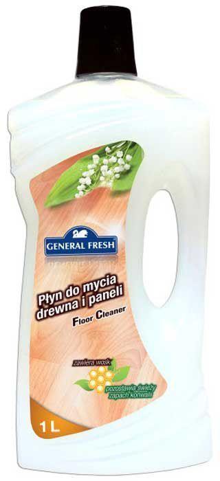 Жидкость General Fresh, для мытья деревянных и ламинированных полов, 1 л790009Специализированная жидкость для мытья деревянных и ламинированных полов General Fresh - незаменимое средство в каждом доме. Тщательно подобранная композиция моющих компонентов позволяет восстановить идеальную чистоту любого пола. Содержащийся в жидкости воск придает великолепный блеск, скрывает трещины и царапины, а также восстанавливает глубину цвета. Подходит для мытья всех типов напольных покрытий: ламината, напольных покрытий из ПВХ, дерева. Жидкость для мытья деревянных и ламинированных полов торговой марки General Fresh - это отличный способ сохранить пол в идеальном состоянии без лишних усилий.