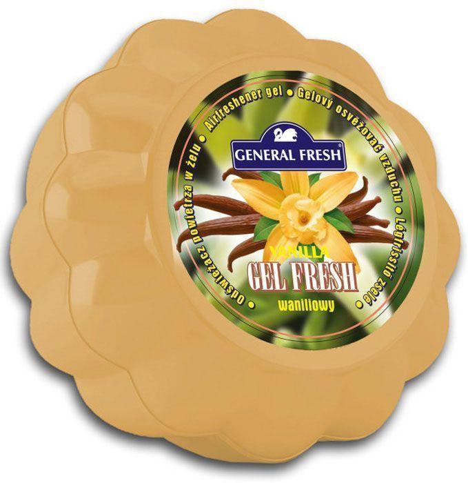Освежитель воздуха General Fresh Gel Fresh, гелевый, 1 шт. 589016106-026Освежитель воздуха в геле GEL FRESH круглосуточного действия. Имеет декоративное оформление, различные цвета и различные ароматы. Постоянный источник приятного запаха.