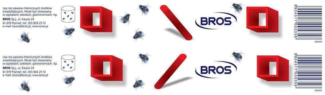 Лента от мух BROS, плоская, 1 шт.9103500790BROS Лента от мух плоская. Новейший вид липкой ленты от летающих насекомых. Специальная рецептура клея делает, что он сохраняет эффективность до 12 месяцев после вскрытия упаковки. Эстетичный вид липкой ленты позволяет использовать ее в любом помещении. 1 штЛипкая лента-полоска от мух для уничтожения мух в помещениях. Липкую ленту можно использовать в жилых, хозяйственных и административных помещениях, особенно там, где не рекомендуется применять средства для борьбы с насекомыми, содержащие инсектициды. Применение: Сорвать верхний защитный слой бумаги и повесить липкую ленту в месте скопления насекомых. Кроме того, можно свернуть липкую ленту в кольцо, склеив короткие концы, и поставить в месте скопления мух. Не рекомендуется вешать липкой ленты непосредственно над продуктами питания. Липкая лента не содержит инсектицидов.Продукт не содержит опасных веществ.Использованную липкую ленту следует выбросить в мусорный ящик.Состав: ароматические алифатические смолы, функциональные и технологические компоненты. Не содержит инсектицидов.