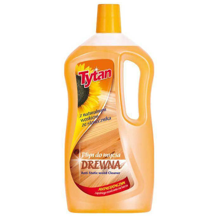 Жидкость Tytan, для мытья деревянных поверхностей, 1 л4607002303229Формула жидкости была разработана таким образом, чтобы оберегать очищаемые поверхности при каждом использовании. Жидкость обогащена антистатическим веществом, предотвращающим оседание пыли на убираемых поверхностях. Придает поверхностям нежный блеск - не оставляет разводов. Оставляет свежий и приятный запах.