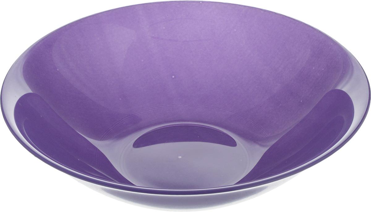 Салатник Luminarc Arty Parme, диаметр 16,5 см115510Салатник Luminarc Arty Parme выполнен из высококачественного стекла. Он прекрасно впишется в интерьер вашей кухни и станет достойным дополнением к кухонному инвентарю.Красивый и современный салатник Luminarc Arty Parme добавит ярких красок в сервировку вашего стола. Отличный вариант для шумных посиделок с друзьями.Можно мыть в посудомоечной машине и использовать в СВЧ.Диаметр салатника (по верхнему краю): 16,5 см.Высота стенки салатника: 5 см.